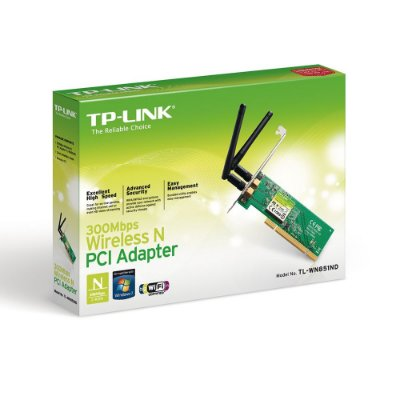 Adaptador PCI 300Mbps Wireless N – TPLink