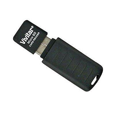 Gravador e leitor de cartão Micro SD USB 2.0 Vivitar