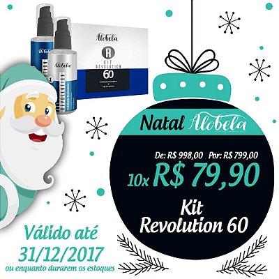 Kit Revolution 60 Natal – Peeling e Lifting Facial com Preenchimento de Rugas