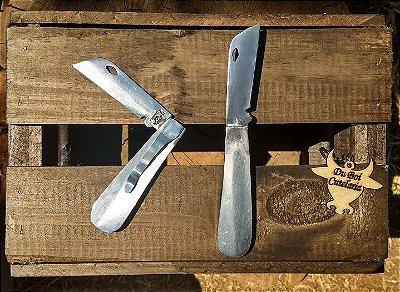Canivete de Inox Sem Ponta e Com Presilha