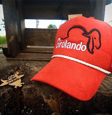 Country - Boné Girolando Vermelho