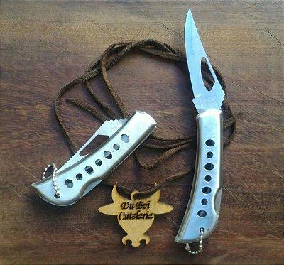 Canivete Alumínio Com Trava