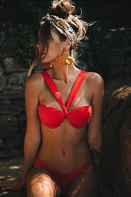 Biquini Hy Brasil HB141 Vermelho Paixão