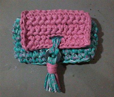 Curso de Crochê - Carteira Clutch