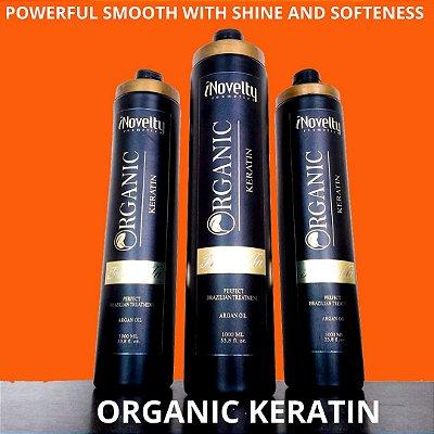 Brush Organic Keratin Isa Bella INovelty Cosmética - Smelless