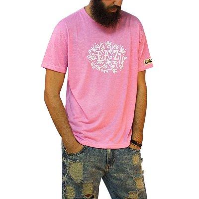Camiseta Paz  -Rosa