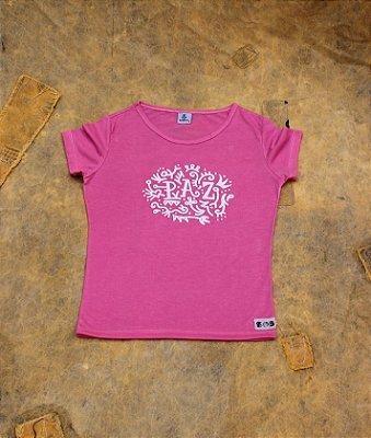 Camiseta Paz - Rosa