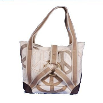 Bolsa Reciclada com Argola  - Off White
