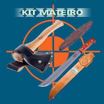 Kit Mateiro C/ Bainha Machadinha Preta