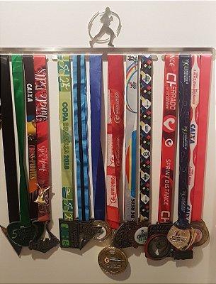 Porta Medalha Corrida Perfeita - Versão Corredor