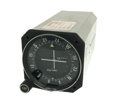 VOR/LOC/GS INDICATOR - KI 209 - BENDIX KING