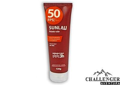 Protetor solar fator 50 de 120g Sunlau