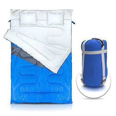 Saco de Dormir NTK Casal Azul