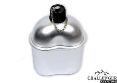 Cantil Echolife Aluminio capa preta