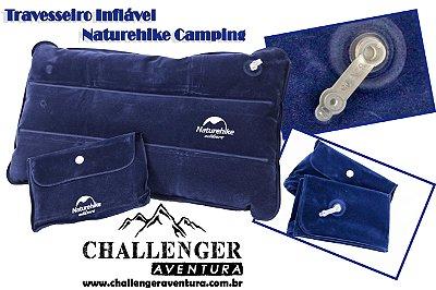 Travesseiro Inflável Naturehike Camping