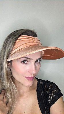Viseira com Proteção UV50+ Classic cor Papaya