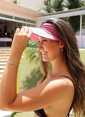 Viseira com Proteção UV50+ Classic cor Rosa Queimado