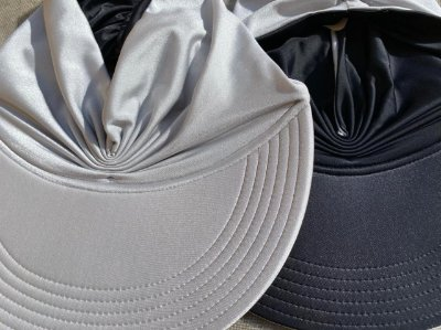 Viseira Turbante UV50+ DUPLA-FACE - Premium cor Prata