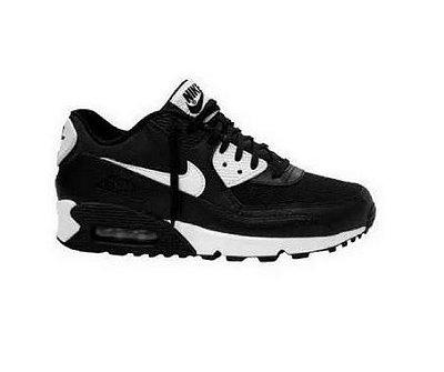 Tênis Nike Air Max 90 Preto e Branco