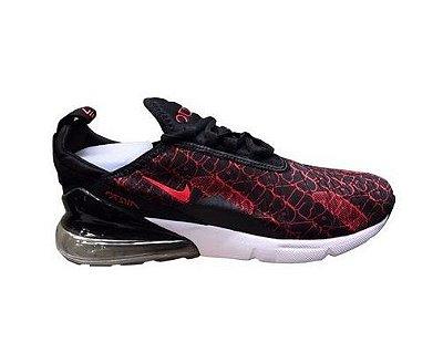 Tênis Nike Air Max 270 Preto e Vermelho