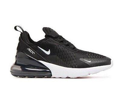 Tênis Nike Air Max 270 Preto e Branco