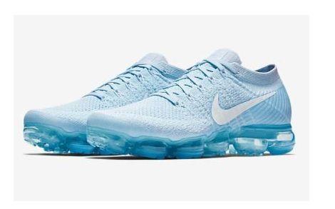 Tênis Nike Air Vapormax Flyknit 2 Azul Claro