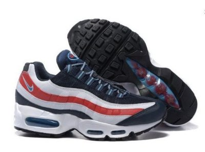 Tênis Nike Air Max 95 Azul e Vermelho