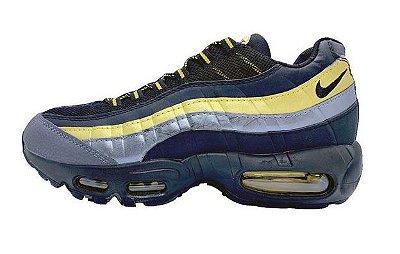 Tênis Nike Air Max 95 Azul e Amarelo