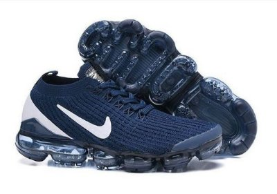 Tênis Nike Air Vapormax Flyknit 3 Azul e Branco