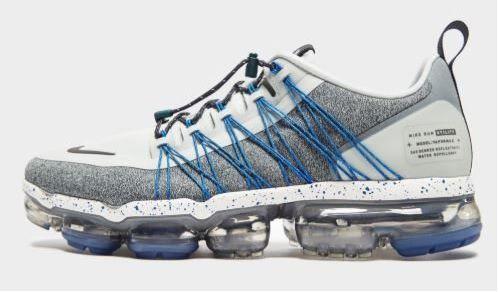 Tênis Nike Air VaporMax Utility Cinza Claro e Azul