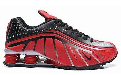 Tênis Nike Shox R4 Vermelho e Preto
