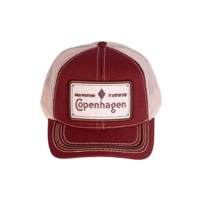 BONÉ COPENHAGEN RED - WILD WESTERN IT SATISFIES