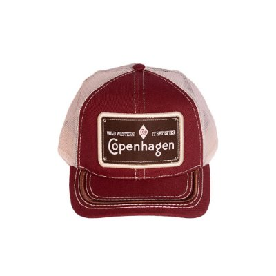 BONÉ COPENHAGEN RED BROWN - WILD WESTERN IT SATISFIES