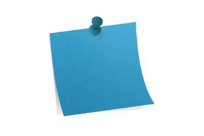 Papel Color Fluo Blue 120g/m² - 48x66cm
