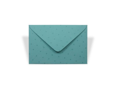 Envelopes 72 x 108 mm - Aruba Decor Bolinhas Incolor - Lado Externo