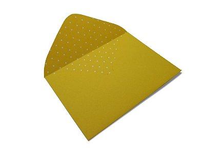 Envelopes 114 x 162 mm - Rio de Janeiro Decor Bolinhas Branco - Lado Interno
