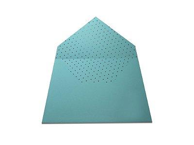 Envelopes 165 x 225 mm - Aruba Decor Bolinhas Pretas - Lado Interno
