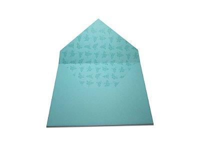 Envelopes 165 x 225 mm - Aruba Decor Rosas Incolor - Lado Interno