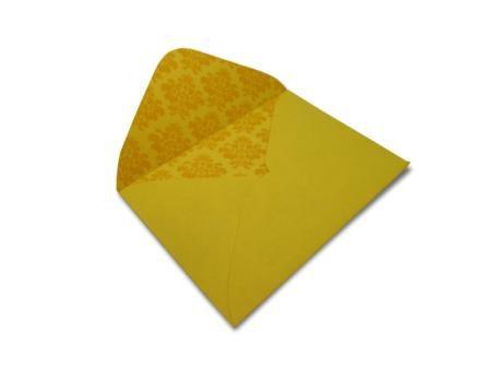 Envelopes 114 x 162 mm - Rio de Janeiro Decor Arabesco Incolor - Lado Interno