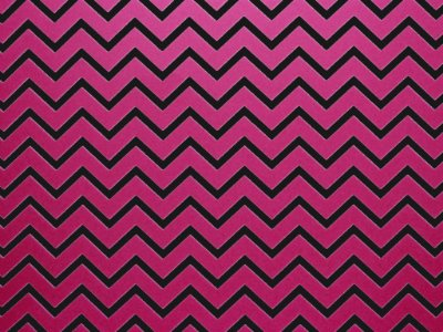 Decor Chevron Pink - Preto
