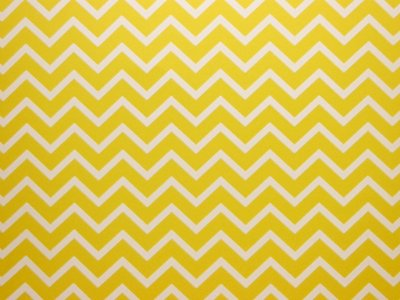 Decor Chevron Yellow - Branco