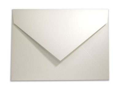 Envelopes convite Metallics Ice Gold com 50 unidades