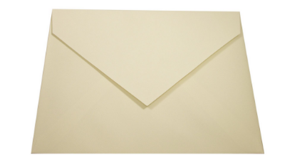 Envelopes convite Markatto Finezza Naturale com 50 unidades