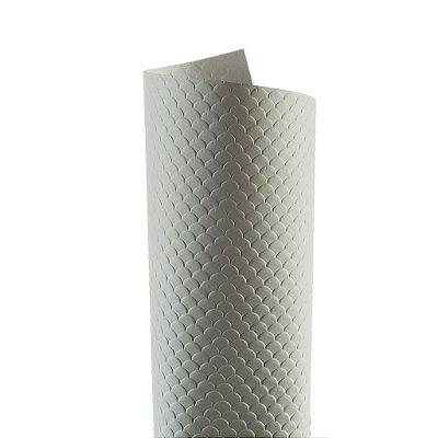 Papel Tx Max Escamas Branco 30,5x30,5cm com 5 unidades