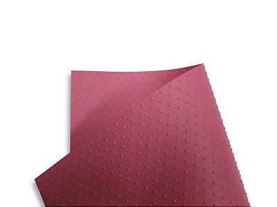 Papel Tx Realce Bolinhas Rosa 30,5x30,5cm com 5 unidades