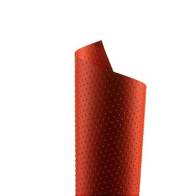 Papel Tx Realce Bolinhas Vermelho 30,5x30,5cm com 5 unidades
