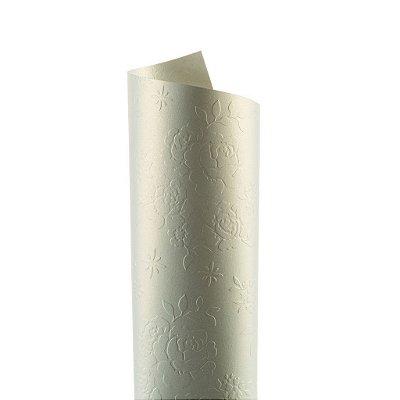 Papel Tx Realce Bouquet Ice Gold 30,5x30,5cm com 2 unidades