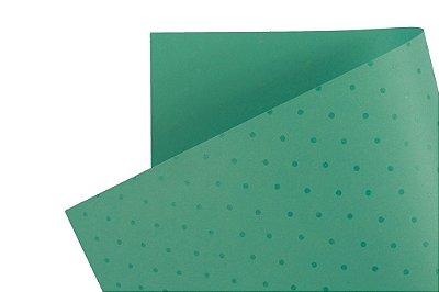 Papel Decor Bolinhas Aruba - Incolor 30,5x30,5cm com 5 unidades