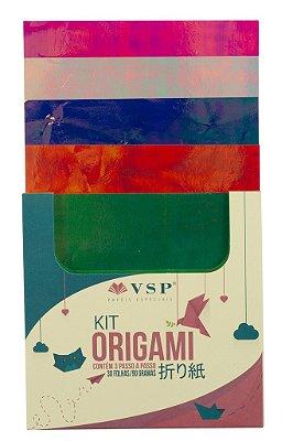 Papel para Origami Multicores 4 com 30 unidades