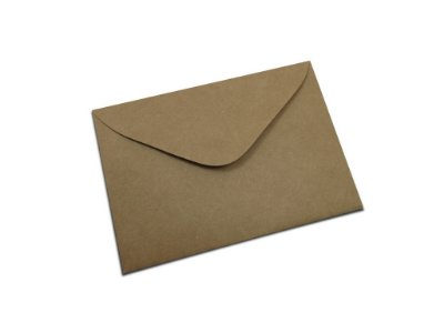Envelopes carta Papel Kraft com 10 unidades